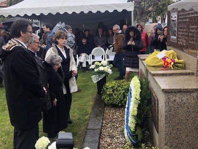"""Laredo homenajea a Ramiro Santisteban para que lo ocurrido durante el nazismo y el fascismo """"no se vuelva a repetir"""""""