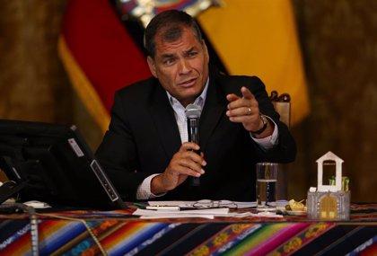 """Correa acusa a Moreno de ser """"el traidor más grande"""" del país y la región por la """"canallada"""" a Assange"""
