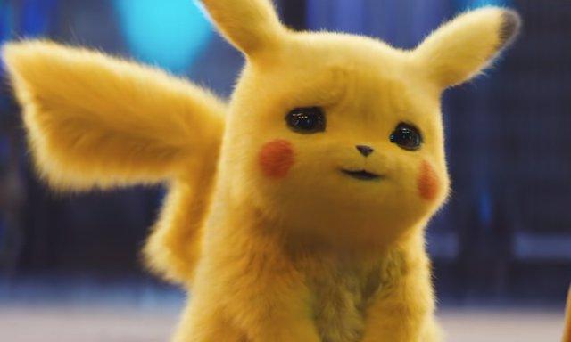 La imagen del Detective Pikachu en un asiento de bebé del nuevo tráiler enloquece a los fans