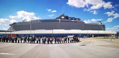 MSC Cruceros estima que sus pasajeros aporten en la provincia de Málaga unos 3,5 millones de euros en 2019