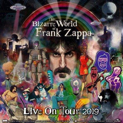 VÍDEO: El holograma de Frank Zappa 'ensaya' para el inicio de su inminente gira