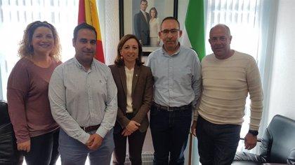 Navarro se reúne con los alcaldes de Algarrobo, Canillas de Albaida, Cómpeta y Sayalonga para hablar de carreteras