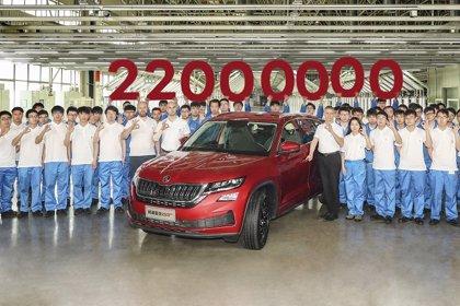 Skoda alcanza una producción acumulada de 22 millones de vehículos en sus 124 años de historia