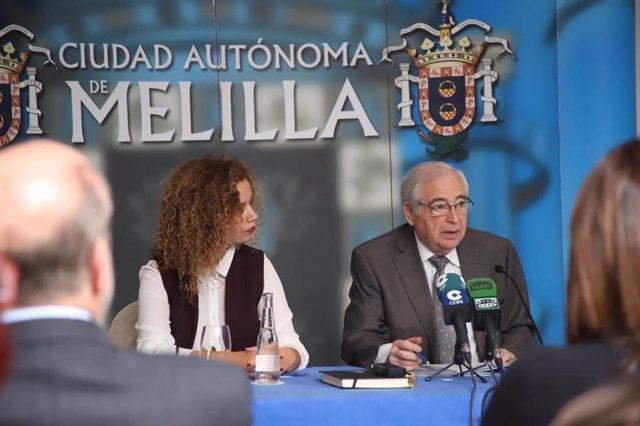 28A.- La Junta Electoral multa al presidente de Melilla y su consejero de Medio Ambiente por inaugurar una fuente