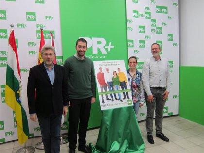 """El PR+ arranca la campaña con el objetivo de """"marcar la diferencia"""" y que """"se escuche La Rioja en Madrid"""""""