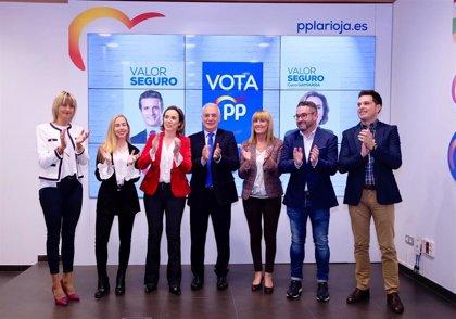 """El PP afirma que representa el """"aval de la fiabilidad, la solvencia y la responsabilidad"""""""