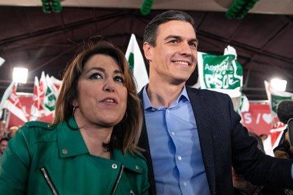 """Susana Díaz: Sánchez tendrá una """"inmensa mayoría"""" andaluza para frenar a la derecha más """"cruel"""""""