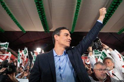 Sánchez pide movilización porque si la derecha suma volverán la corrupción, los recortes y la confrontación territorial