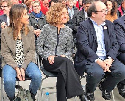 """Meritxell Batet a ERC: """"Ser de izquierdas es políticas de izquierda y no pinza con la derecha"""""""