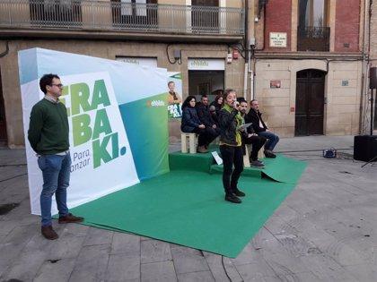 """Bel Pozueta afirma que quiere defender en el Congreso """"la soberanía de Navarra"""""""