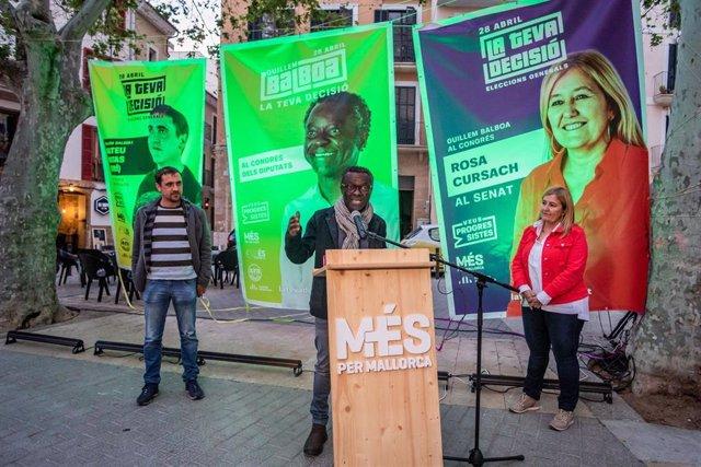 """28A.- Veus Progressistes Inicia La Campaña Electoral Defendiendo """"Pluralismo, Pactos Y Negociación"""""""