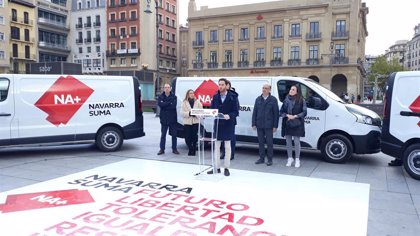 """Navarra Suma destaca que va a """"plantar cara al nacionalismo en Navarra y en España"""""""