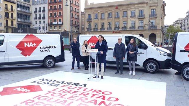"""28A.- Navarra Suma Destaca Que Va A """"Plantar Cara Al Nacionalismo En Navarra Y En España"""""""