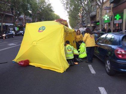 Muere un hombre de 62 años al ser atropellado por un turismo en Ciudad Lineal