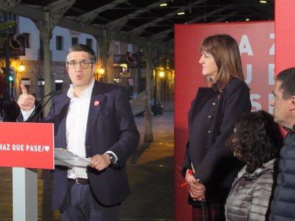 """López (PSOE) llama a poner """"límite a la desvergüenza"""" de la derecha y extrema derecha que se han """"mimetizado"""""""