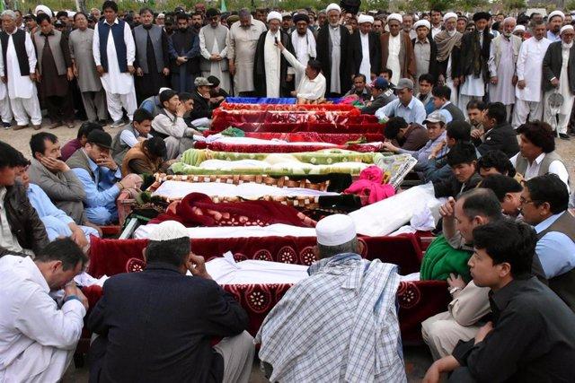 Funeral en Pakistán