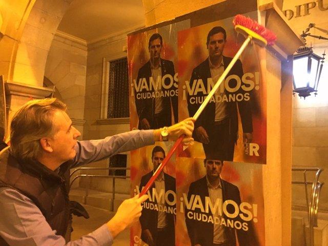"""28A.- Joaquín Moreno (Cs) Afronta La Campaña En Teruel """"Con Muchas Ganas"""" Para """"Poner A España En Marcha"""""""