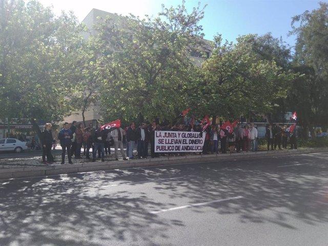 Sevilla.- Reunión en el Sercla este jueves por la huelga indefinida convocada en el metro