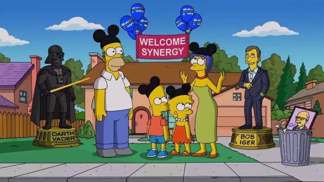 """Los Simpsons estarán disponibles en Disney+: """"¡Saludad a nuestros nuevos dueños corporativos!"""""""