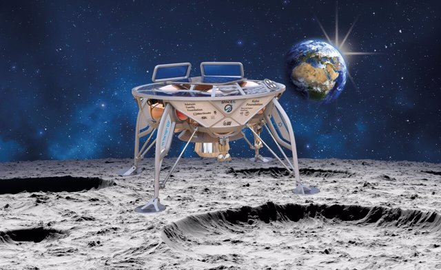 Recreación de la sonda Génesis