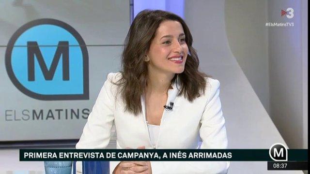 28A.- Cs denuncia ante la JEC un reportaje de TV3 sobre familiares de los presos independentistas
