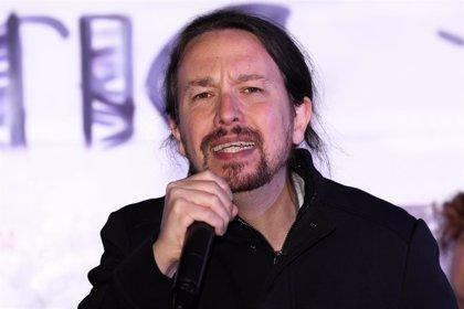 """Pablo Iglesias cree que Assange debería estar """"recibiendo premios de periodismo"""" y no en prisión"""