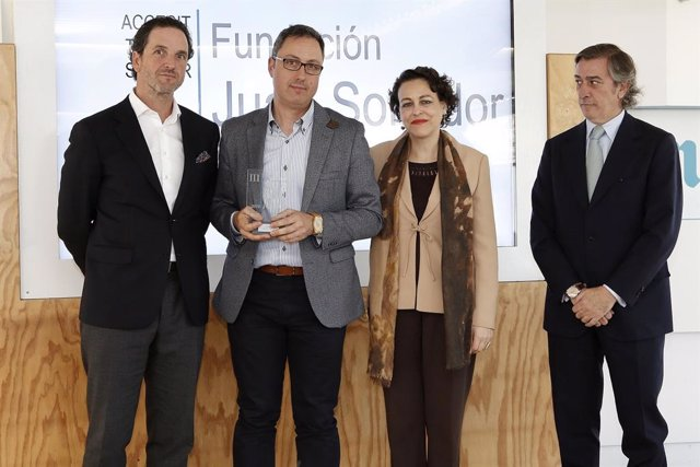 La Fundación Juan Soñador recibe el premio de fomento al empleo juvenil en Castilla y León