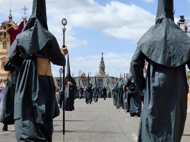 Sevilla.- Más de 1.600 agentes de la Policía Nacional velarán por la seguridad durante la Semana Santa de Sevilla