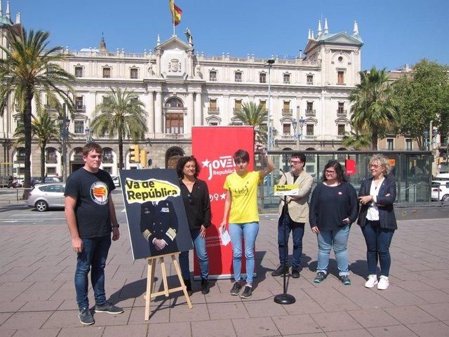 """28A.- ERC Reclama El Vot Per """"Fer Caure El Rei"""" I Titlla Al PSC De Partit Monàrquic"""