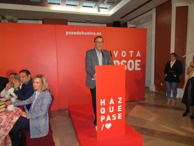 """Huelva.- 28A.-Caraballo: """"no queremos una campaña de insultos porque quien insulta no tiene argumentos y PSOE los tiene"""""""
