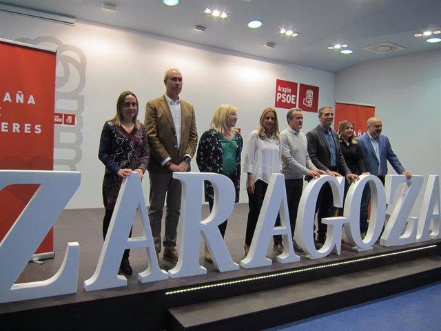 28A.-Zaragoza.- Los Candidatos Del PSOE Piden Adecuar La Normativa A Las Necesidades De Los Pequeños Municipios