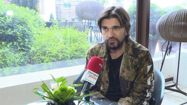 """Juanes: """"La política siempre va a dividir a la gente"""""""