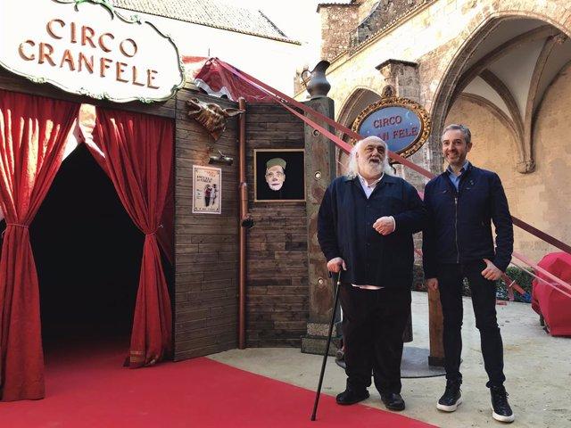 Cultura.- El claustro gótico del Centro del Carmen se convierte en una escuela de circo con la carpa de Gran Fele