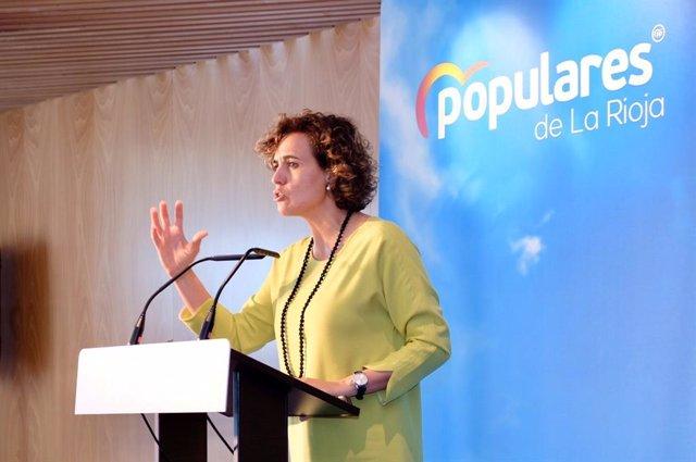 """28A.-Montserrat(PP): """"El voto que no vaya a Pablo Casado son escaños para Sánchez, Iglesias, Otegi, Rufián y Puigdemont"""""""