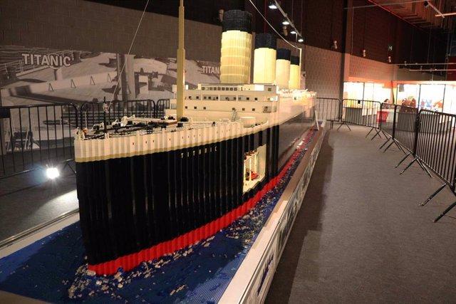 Zaragoza.- La exposición de construcciones de Lego más grande de Europa, en intu Puerto Venecia