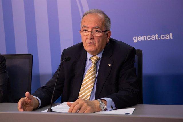 Presentación del preacuerdo de representatividad empresarial de la Generalitat de Catalunya