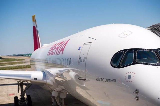 Economía/Empresas.- Iberia recibirá cuatro A350 adicionales hasta 2023