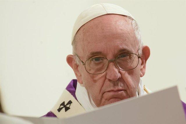 Pope visits church of San Giulio