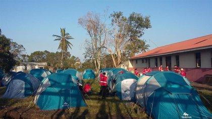 El equipo sanitario español en Mozambique se renueva con un segundo turno de personal y logista tras 15 días de trabajo