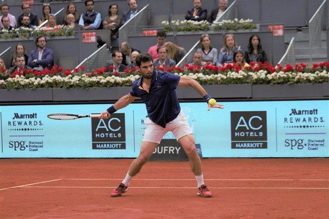 Andujar en el Mutua Madrid Open