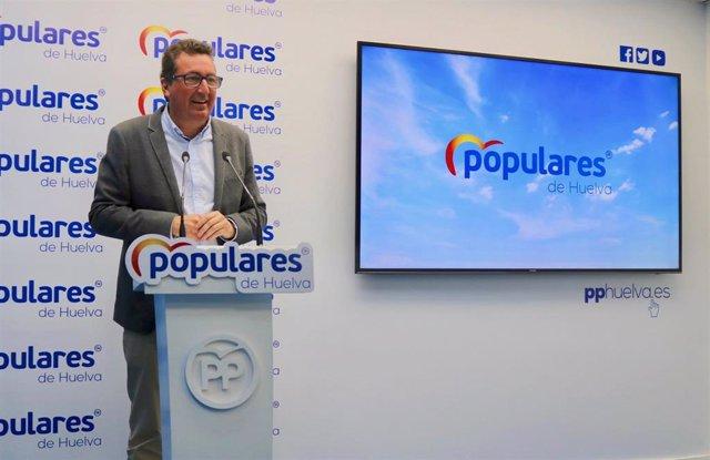 """Huelva.- 26M.-PP insiste en que si necesita a Cs para el Gobierno en la capital """"mirará lo mejor para Huelva no nombres"""""""