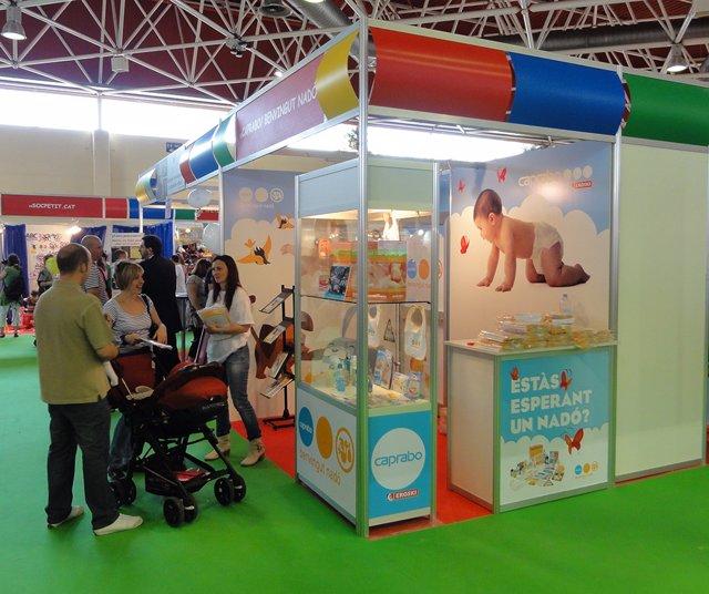 Caprabo participa en la Fira Exponadó Tarragona con el programa 'Benvingut Nadó'