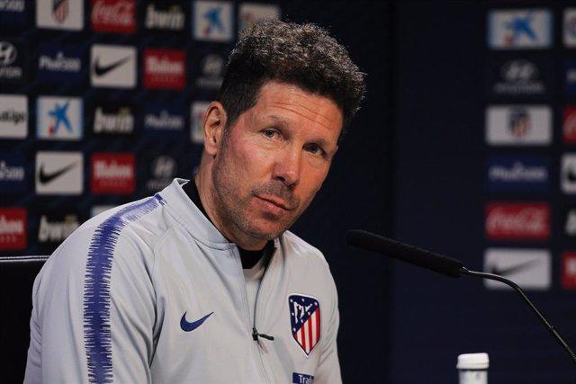 """Simeone: """"Confío a muerte en Diego Costa y deseo que se quede el año que viene"""""""