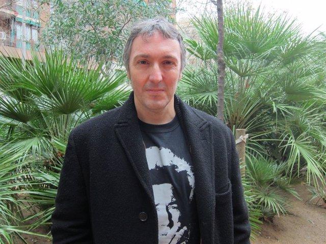 El escritor barcelonés Carlos Zanón