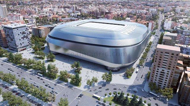 Fútbol.- El Real Madrid firma la financiación del nuevo Bernabéu