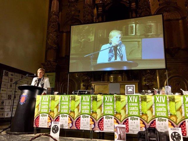 González Menorca resalta el valor de la Semana Santa Verde de Alfaro, que une tradición religiosa, campo y gastronomía