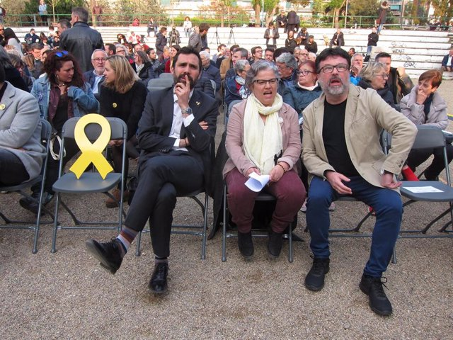 """Av.- 28A.- Torrent reivindica a ERC com """"el triple vot útil"""" en benefici de Catalunya"""