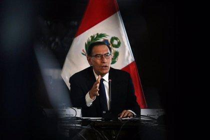 Vizcarra pide a Congreso que apruebe cuanto antes los proyectos de reforma y promete luchar contra la corrupción en Perú