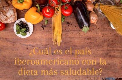 ¿Cuál es el país iberoamericano con la dieta más saludable?