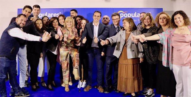 """Huelva.-26M.-Loles López afirma que la candidata del PP en Riotinto contará con un Gobierno andaluz """"aliado y amigo"""""""